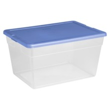 sterilite clear plastic box