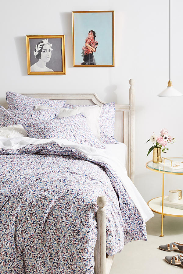 Liberty for Anthropologie Bonnie Bloom Sheet Set